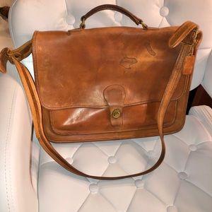 Coach Vintage Messenger Bag 💼 Briefcase Handbag